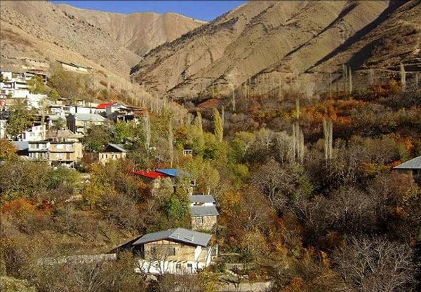 روستای بَرغان.
